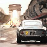 Ferrari Paris Arc De Triomphe (Ferrari 250 GTO)