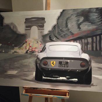 Sander Seidemanns Ferrari Arc De Triomphe (Ferrari 250 GTO)
