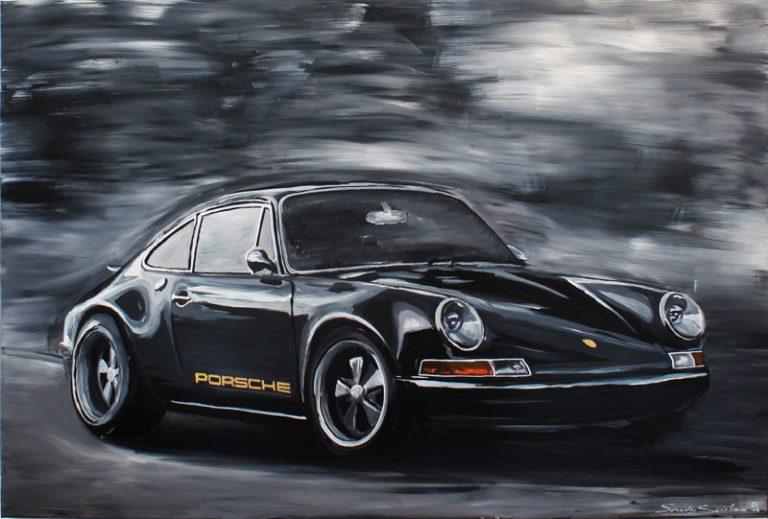 Porsche 911 Black