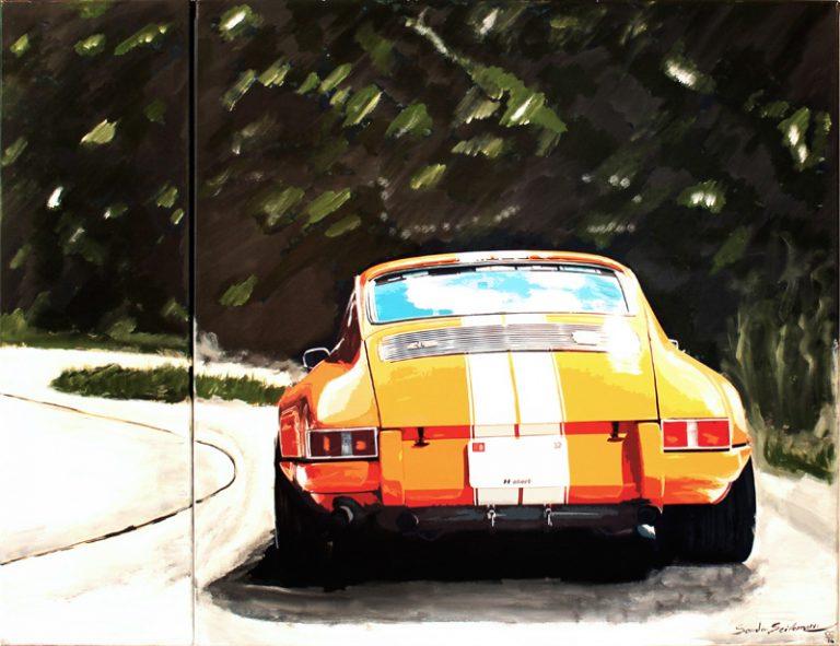 Porsche Mountain Race Orange